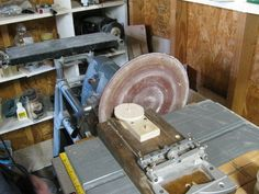 Wooden Models #166: Mag Wheel Making Jig - by htl @ LumberJocks.com ~ woodworking community Truck Wheels, Wheels And Tires, Wooden Toy Trucks, Wooden Plane, Corn Bags, Making Wooden Toys, Bird Mobile, Make Up Your Mind, Bench Plans