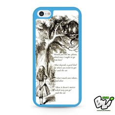 Alice In Wonderland Cheshire Cat iPhone 5C Case
