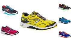 ELIORUN:  Ideata per lo sportivo che pratica running 3/4 volte a settimana, per circa 1 ora su strade e sentieri stabili. Leggerezza, ammortizzamento e piacere nella corsa.