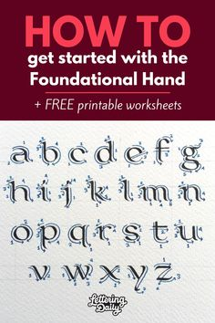 Basic Calligraphy, Calligraphy Worksheet, Calligraphy Tutorial, Calligraphy For Beginners, Hand Lettering Tutorial, Calligraphy Handwriting, Calligraphy Alphabet, Calligraphy Tools, Penmanship