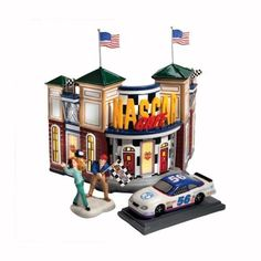Department 56 Snow Village Nascar Caf Set2 * Check this awesome product by going to the link at the image.