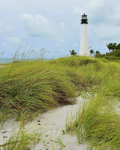 Cape Florida Lighthouse by armullis, via Flickr