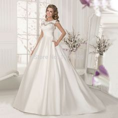 Cheap dress like lady gaga, Buy Quality dress patterns evening gowns directly from China dress wedding gown Suppliers: Welcome to Uncle House Dress StoreVestido de noiva simples Satin Cheap Wedding Dress 2016 Lace Bride Dresses Ball