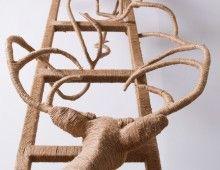 Caroline de Bruin, oa beelden van touw, vaak herten