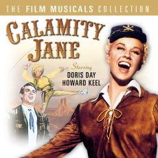 calamity jane, love this movie, doris day and howard keel!