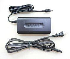 Genuine SONY Handycam AC Power Adapter/Charger Model AC-L10A #Sony Ac Power, Sony, Charger, Electronics, Model, Scale Model, Models, Consumer Electronics