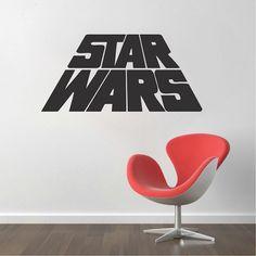 Original Star Wars Logo Decal | Star Wars Logo Sticker | Trendy Wall Designs