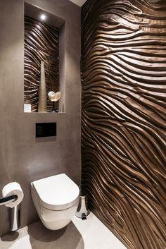 Best Bathroom Designs, Bathroom Design Luxury, Modern Bathroom Design, Wc Design, Toilet Design, Home Room Design, House Design, Bathroom Counter Decor, Modern Wooden House
