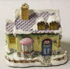 "Hawthorne Precious Moments Christmas Collection ""Sew Sweet Tailors"" NIB w/ COA"