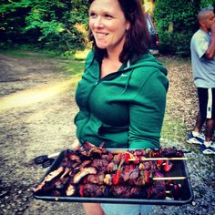 easy and perfect camping meal. For June girls camp out? @Mylissa Fitzsimmons Thompson