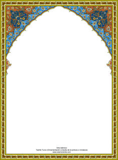 Free border designs islamic border design images and frames to islamic art turkish tazhib on a frame thecheapjerseys Image collections