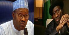 Hot News  Now: Buhari to Jonathan: War against terrorism cannot b...