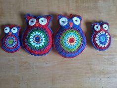 Owls en een patroon! ~ Tabitha's Haakblog