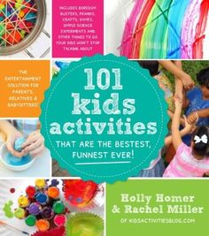 Looking for something to do this Summer? How about 101 Kids Activities? FUN!!!