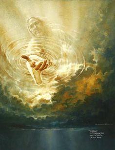 Calling - Jesus Christ 2010. oil on canvas by Yongsung Kim