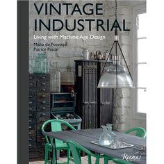 Vintage Industrial Machine Age Design - Coffee Table Book