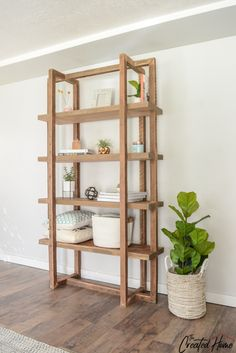Woodworking Furniture Kids How to build a DIY geometric bookshelf.Woodworking Furniture Kids How to build a DIY geometric bookshelf Diy Furniture Plans Wood Projects, Easy Woodworking Projects, Furniture Design, Geometric Furniture, Furniture Ideas, Cheap Furniture, Woodworking Tools, Wood Furniture, Woodworking Magazines