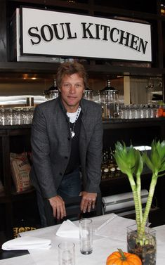 Jon Bon Jovi's Soul Kitchen - there are no prices on the menu- those who are able pay what they can... others volunteer in return for a meal.