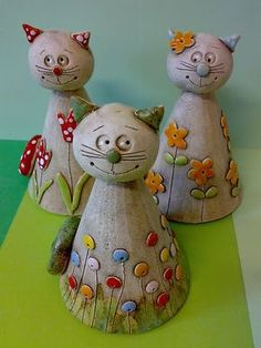 <br> result for pottery suggestions christmas - Bastelideen Clay Projects For Kids, Kids Clay, Ceramic Clay, Ceramic Pottery, Cerámica Ideas, Pottery Animals, Sculptures Céramiques, Pottery Classes, Ceramics Projects