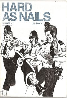Fighting Crew : (THIS IS AN INTERVIEW WITH PAUL BARRETT OF 'HARD AS NAILS' ZINE) Antiracist Skinhead Fanzine