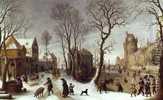 The Four Seasons Winter by Sebastien Vrancx
