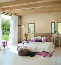 bedroom color schemes black white beige purple green brown (no white) Dream Bedroom, Home Bedroom, Bedroom Decor, Girls Bedroom, Summer Bedroom, Bedroom Curtains, Bedroom Ideas, Bedroom Color Schemes, Bedroom Colors