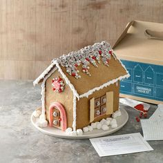 diy gingerbread house | DIY Gingerbread House Kit Recipe