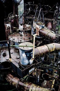 7 incroyables clichés d'usines abandonnées ‹ Histoires Du Net