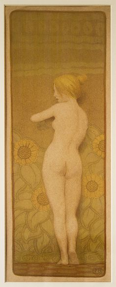 Paul BERTHON (1872 - 1934): Petit nu Woodblock Print, Japanese Art, Impressionism, Art Decor, This Is Us, Monogram, Fine Art, This Or That Questions, Canvas