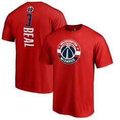 Bradley Beal Washington Wizards Big & Tall Backer T-Shirt - Red - $34.99