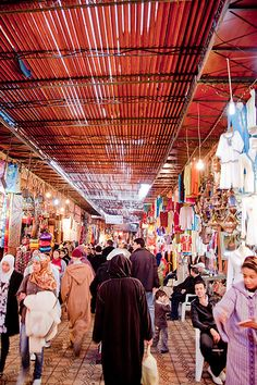 Marrakech: The Souk Market, Morrocco