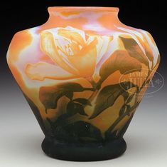 Buy online, view images and see past prices for DAUM MAGNOLIA CAMEO GLASS VASE.. Invaluable is the world's largest marketplace for art, antiques, and collectibles.