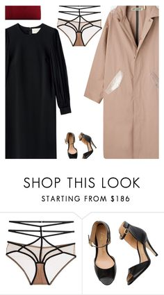 """""""Untitled #4674"""" by amberelb ❤ liked on Polyvore featuring For Love & Lemons and VBH"""