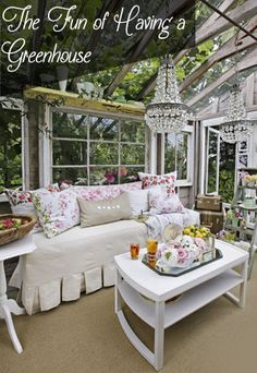 Greenhouses....the great escape!