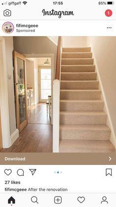 Glass Door, Stairs, Doors, Home Decor, Kitchen, Stairway, Decoration Home, Cooking, Room Decor