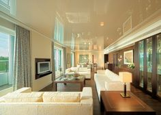 Glossy white ceiling - what I'm planning for my powder room - Best Design Guides - TOP 5 Hotels Hamburg Grand Elysee 02