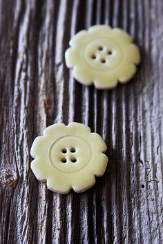 My handmade ceramic buttons