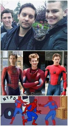 marvel heroes superheroes Tobey Maguire: Very good Peter Parker, decent Spider-Man Andrew Garfield: Not a good Peter Parker, very good Spider-Man Tom Holland: Best and hopefully final Peter Parker AND Spider-Man. Marvel Jokes, Marvel Avengers, Marvel Comics, Funny Marvel Memes, Dc Memes, Meme Comics, Avengers Memes, Marvel Heroes, Spiderman Marvel