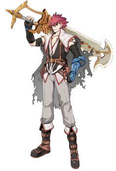 Flay Gunnar from Mana Khemia: Alchemists of Al-Revis ✧ #characterconcepts ✧