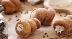 Cartocci Siciliani are a typical pastry from Sicily usually fi