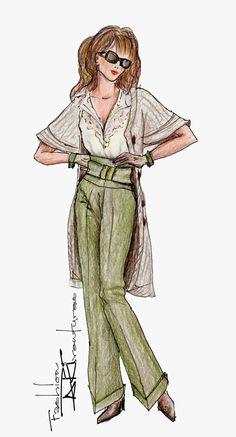 City Look: Advanced Fashion Design Drawing Tutorial