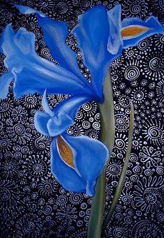 Iris by Cherie Roe Dirksen (www.cherieroedirksen.com)