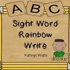 Your students will be learning sight words in no time. This 65 page file has dolch and fry sight words. Students will be able to trace the sight wo...