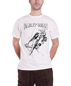Officially Licensed Merchandise Harley Quinn Sways T-Shirt (White), XX-Large #camiseta #realidadaumentada #ideas #regalo