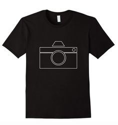 Super fun camera photography tee! Available for sale on Amazon!: https://www.amazon.com/dp/B01BFVXLCQ Available in Women's, Men's, & Youth Sizes!