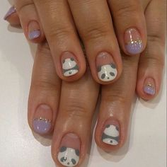 Cool and easy step by step nail art designs panda nail art image via panda nail art designs image via how to create cute panda nail art image via panda nails image via nail art water decals transfers sticker lovely prinsesfo Choice Image