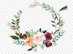 Bible Wine label Religious text - floral wreath Watercolor How to Obtain the Bride Arrangement Floral Wreath Watercolor, Green Watercolor, Watercolor Flowers, Wreath Tattoo, Theme Nature, Green Leaf Background, Hand Flowers, Bridal Flowers, Flower Model