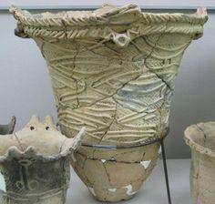 Middle Jomon Ceramics, Japan 2,500 - 1,500 BCE