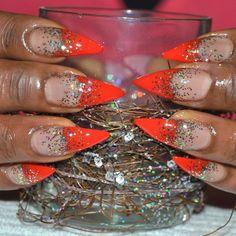 .@nailsbyeffi | #nailglitter #nails #nagelkonst #nailart #nailswag #naglar #glitter #gelnails... | Webstagram
