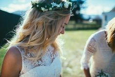 Maggie and Nate Photo: Andrew Hewson Crown, Wedding Dresses, Fashion, Bride Dresses, Moda, Corona, Bridal Gowns, Fashion Styles